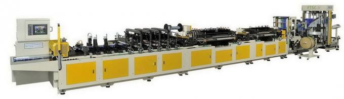 68Kw 3 Side Seal Pouch Making Machine With Compund Films Material