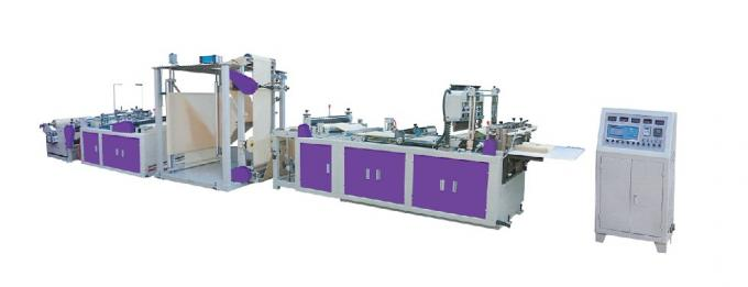 2.2T Non Woven Zipper Bag Making Machine 20g - 80g Discharge Thickness