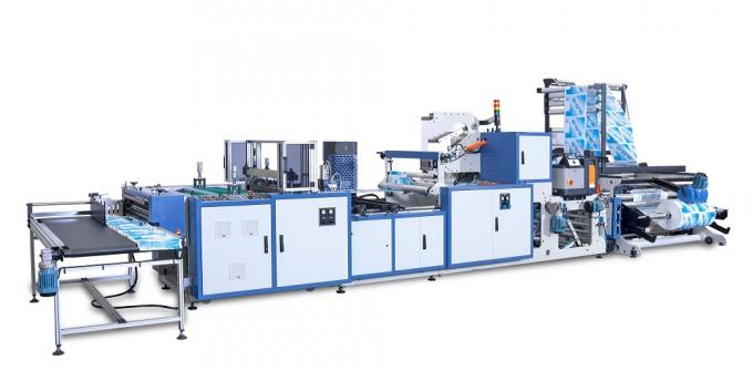 Side Weld Bag Making Machine , Glue Patch Bread Bags Making Machine