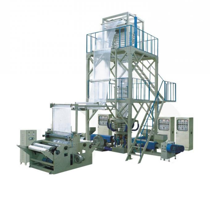 LLDPE Composite Film Blowing Machine Co - Extruder Rotary Die - Head