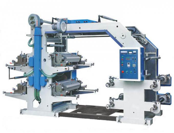 Polyethylene Gravure Printing Machine , Two Color Flexographic Printing Machine