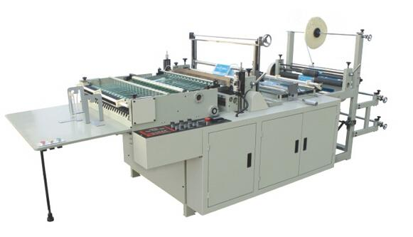 Shopping Bag Making Machines Double Inverter Driving For Central / Bottom Sealing Bag