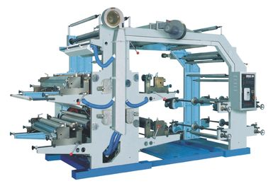 China Polyethylene Gravure Printing Machine , Two Color Flexographic Printing Machine supplier