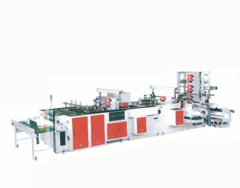 China Fully Automatic Plastic Carry Bag Making Machine 80 Pcs / Min 8200X3100X1870 mm supplier