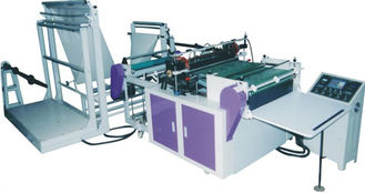China Plastic Film Hot Cut Bread Bags Making Machine 6KW 1000mm Max Bag Width supplier