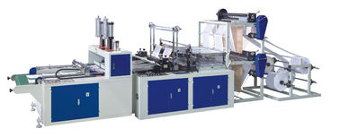 China Automatic Flat / Vest Bag Making Machines Double Layer Four Lines 1300KG supplier