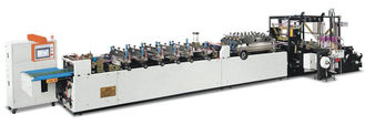 China Bag in Box Automated Side Sealing Bag Making Machine 7Kw Feeding Driving AC Motor supplier