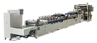 China High Speed Side Sealing Bag Making Machine With 15L / Min Water Cooling supplier