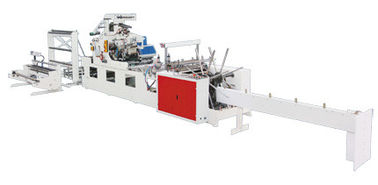China BOPP / POF Heat Patch Handle Bag Making Machine With PLC Controller supplier