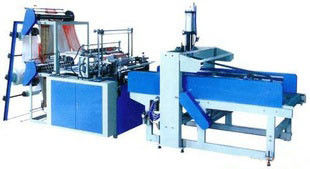 China Side Weld Bag Making Machine , Glue Patch Bread Bags Making Machine supplier