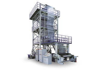 China Co - Extruding Traction Rotation Film Blowing Machine For Three To Seven Layers Film supplier