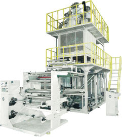 China Side Gusset Edge Folding Blown Film Line For Agricultural Film / Geomembrane Film supplier