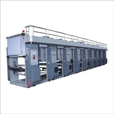 China High Speed Rotogravure Printing Machine For Multi - Colour Coce - Through Continuous Printing supplier