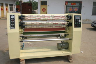 China High Speed Paper Slitting Machine / Paper Slitter Rewinder Machine 0.012mm - 0.15mm supplier