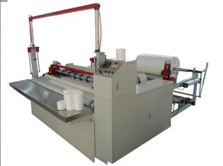 China 5M - 120M / Min Paper Slitting Rewinding Machine Dead Weight Type Surface Rolling supplier