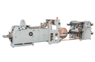 China 400 Pcs Per Min Automated Paper Bag Maker Machine With Flexo Printing Machine supplier