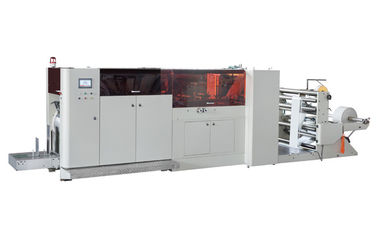 China Automatic Paper Bag Manufacturing Machine For KFC Bags / McDonald's Bags supplier