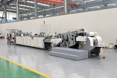 China Ivory Board Sheet Feeding Paper Bag Making Machine 210G - 300G / M2 Die Cutting supplier