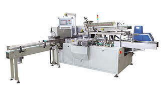 China Box - Type Soft Drawn Toilet Roll Making Machine Automatic 20-50 mm Handle Fixing supplier