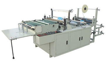 China Bottom Seal Soft Hand Bag Making Machine 8.5Kw 250mm - 600mm Bag Length supplier