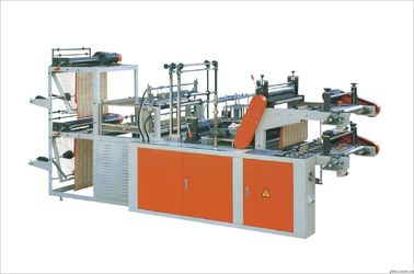 China Shopping Bag Making Machines Double Inverter Driving For Central / Bottom Sealing Bag supplier