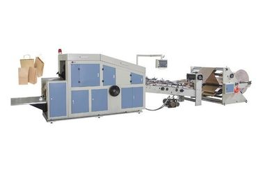 China Sheet Feeding Paper Bag Making Machine , Automatic Paper Bag Manufacturing Machine supplier