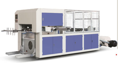 China Automatic Roll Die Cutting / Creasing Paper Cup Manufacturing Machine High Precision supplier