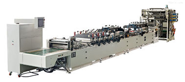 China High Speed Side Sealing Bag Making Machine With 15L / Min Water Cooling distributor