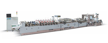 China 68Kw 3 Side Seal Pouch Making Machine With Compund Films Material distributor