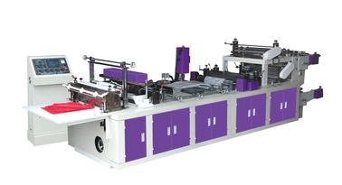 China 2.2T Non Woven Zipper Bag Making Machine 20g - 80g Discharge Thickness distributor