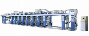 China Auto Register Gravure Printing Machine 100-120 M / Min Main Drive Vector Control distributor
