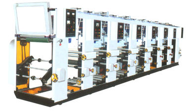China BOPP / PET / PVC Gravure Printing Machine 0.15mm Chromatically Precision distributor