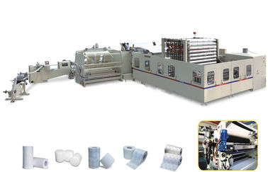 China 4 Blades Tissue Paper Manufacturing Machine Φ76mm Jumbo Roll Core distributor