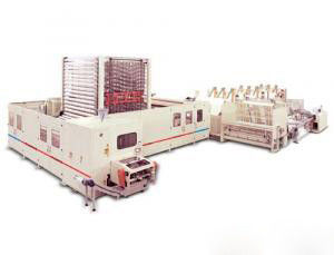China Non - Stop Tissue Paper Making Machine Kitchen Towel Rewinding Line 600M / Min distributor