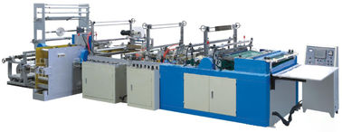 China Draw Tape Automatied Garbage Bag Making Machine for Overlap / Perforation Bag on Roll no Core distributor