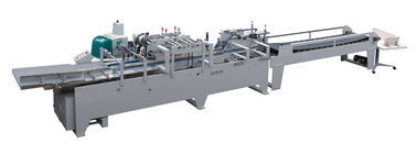 China Automatically Feeding Unclosed Paper Bag Bottom Gluing Machine 11100x1200x1800 mm distributor