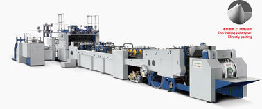 China Fully Automatic Carry Bag Making Machine Kraft Paper / Art Paper Material distributor