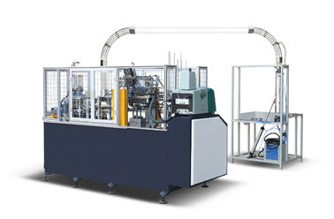 China Middle Speed Paper Cup Sleeve / Disposable Cup Making Machine 2500 * 900 * 1900mm distributor